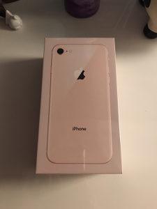 iPhone 8 Gold NOVO - VAKUM - GARANCIJA // ZAMJENA