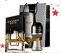 Black Suede Touch za Njega 3/1-Parfem 75ml+Gel+Rollon