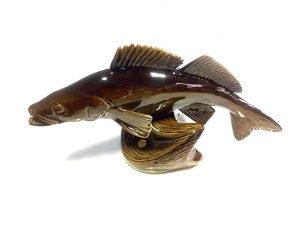 Keramička ukrasna figura (riba)