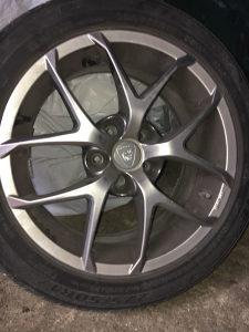 """Allu felge 17"""" AUDI VW s ljetnim gumama"""