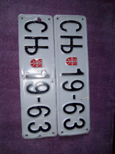 stare registarske tablice