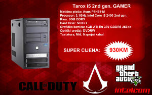 GAMING RAČUNAR Tarox Core i5 2nd gen. R9 370