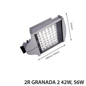 LED ULIČNA RASVJETA GRANADA 56W Š-10160