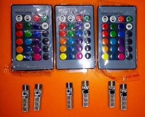 RGB T10 POZICIJE LED