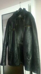 Kožna jakna,broj 52 / XL.