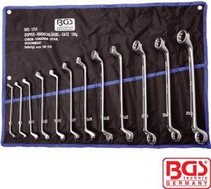 BGS Set (12 dijel.) okastih ključeva  6-32 mm BGS 1214