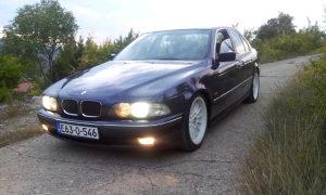 BMW e39 525i plin
