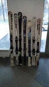 Skije Salomon 168 cm