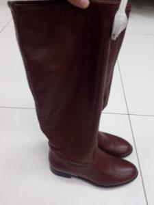 Nove ženske kožne čizme, 37 br.