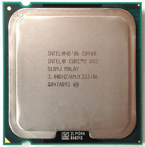 Intel Core2 Duo Processor E8400 3,00 GHz