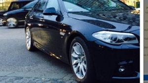 BMW Felge sa gumama
