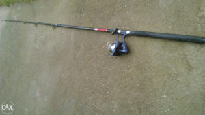 štap i masina za teski ribolov ,,,100km