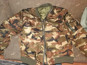 Fajerka maskirna jakna