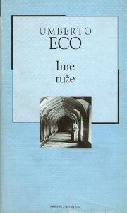 Umberto Eco - Ime ruže