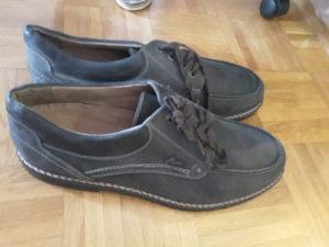 Cipele Derby kožne, broj 53.