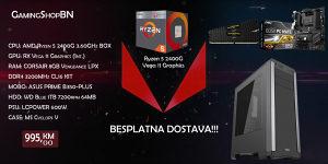 AMD Ryzen 3 2200G / Ryzen 5 2400G / WD 1TB /8GB 3200MHZ