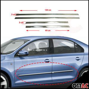 BMW E60 E90 nove hrom krom lajsne obloge vrata SET