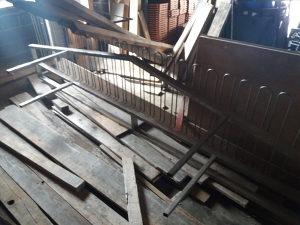 Ugostiteljski stalak za case sirine 4 m