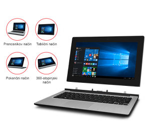 MD99700-Medion Akoya P2212T , 2 u 1 -Notebook + Tablet