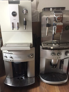 Servis espresso aparata