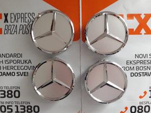 Čepovi za felge znakovi Mercedes 75mm