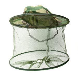 Kapa sa integrisanim maskirnim šeširom za pčelare