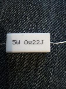 Otpornik 0.22R 5W