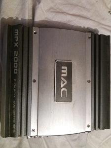MAC 500w pojačalo za auto