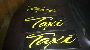 Taxi firma reklama Magnetna