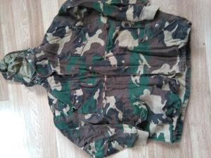 Vojnicka maskirna jakna