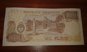 Novcanica Argentine