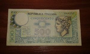 Novcanica Italije