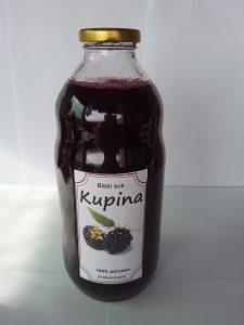 4 flase soka od kupine i 1 flasa soka od grozdja