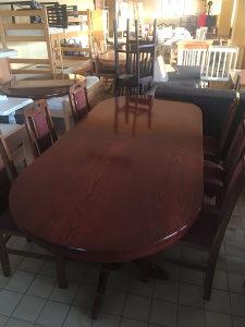 sto veliki 3 metra 6 stolica