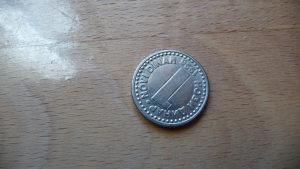 1 dinar 1996