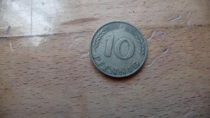 10 pfennig 1969