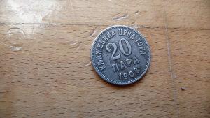 20 para 1908