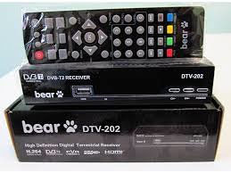 BEAR DVBT 2 RESIVER HD