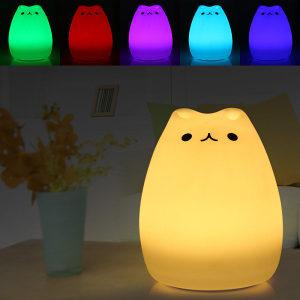 Maca Nocna LED lampa za bebe/djecu igracka