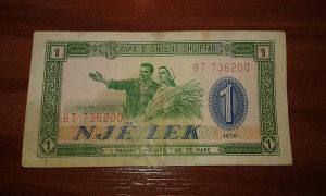 Novcanica Albanije