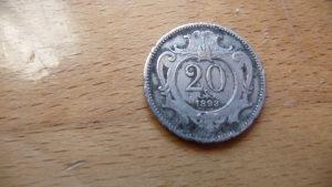20 heller 1893