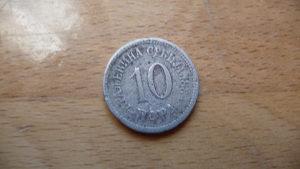 10 para 1884