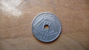 25 centimes 1938