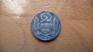 2 dinara 1942