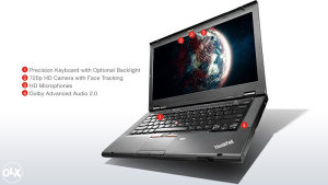 LENOVO W530 workstation i7-3840QM / 16GB/ 500GB/ FullHD