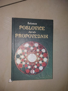 Knjiga Poslovice-Propovednik