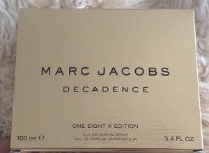 tester marc jacobs decadence