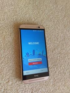 HTC M8 Gold