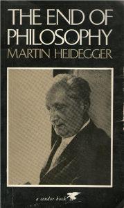 Martin Heidegger - The end of philosophy