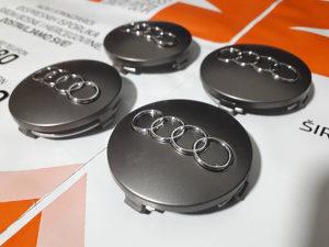 Čepovi za felge Audi A3 A4 A6 A8 60mm